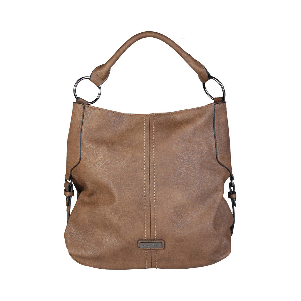 Pierre Cardin shoulder bag, camel