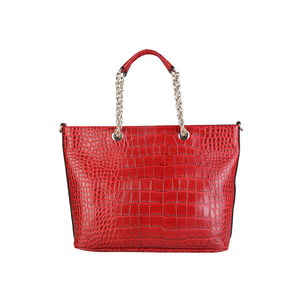 a14c572066 Versace Jeans, red textured handbag – Chic Cult