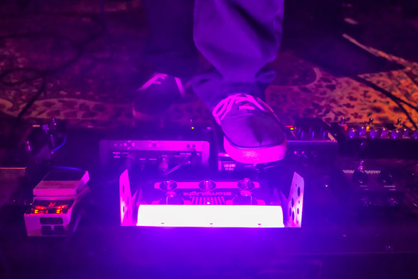 StompLight® Pro stage light pedal and Power Bank - StompLight®