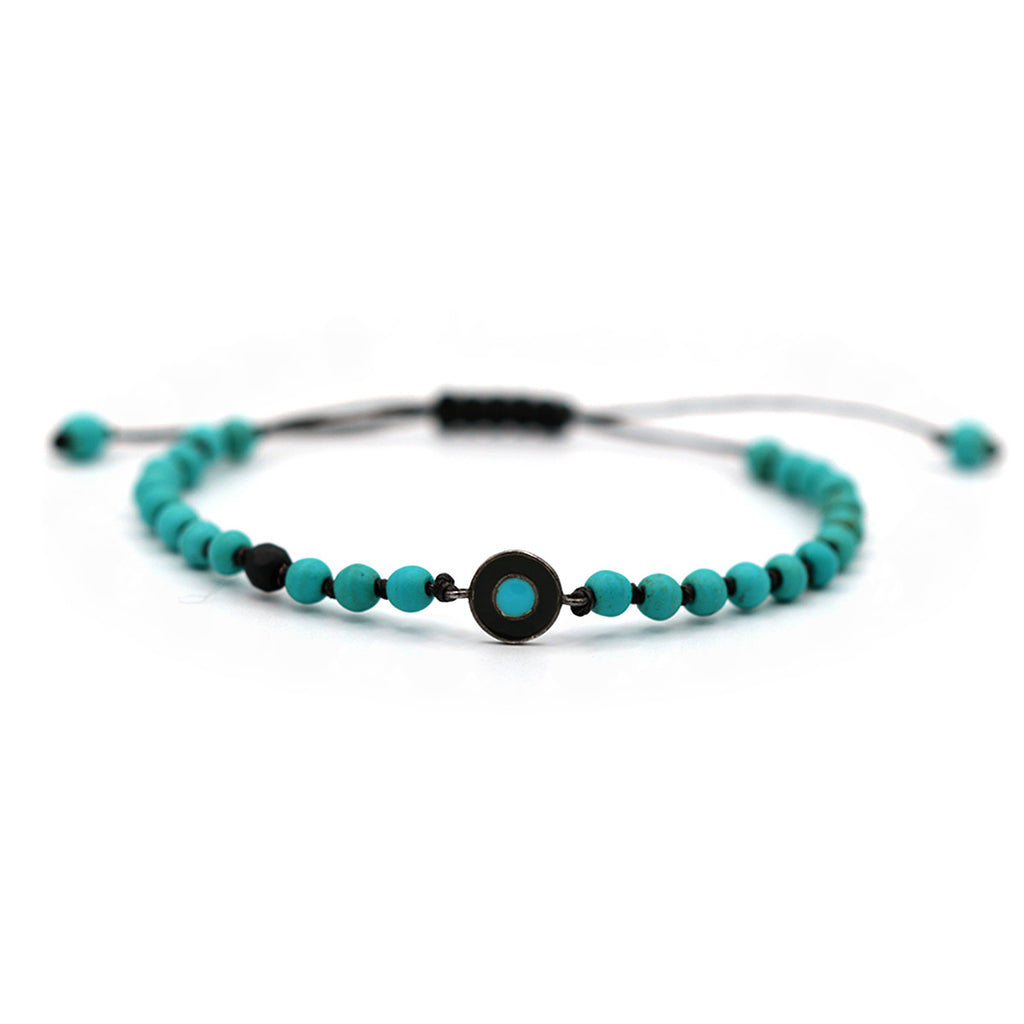 Rocktonica-Turquoise-And-Blue-Eamel-Round-Evil-Eye-Small-Bracelet