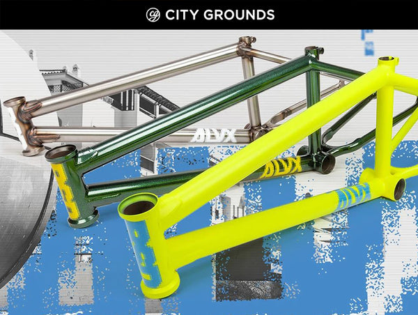 BSD BMX Frames Now at City Grounds