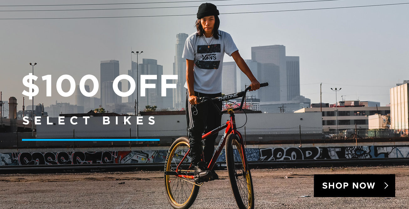 $100 Off Select Bikes