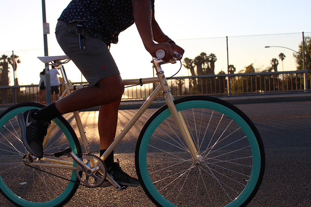 Golden Cycles Fixie Bike