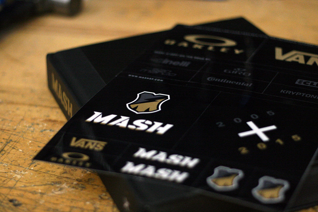 Mash Art Book & Video