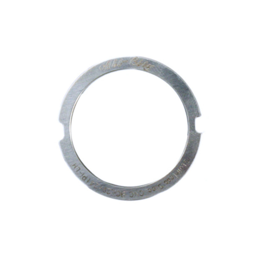 Black Stainless Cr Mo Track Lockring Lock Ring All City Silver