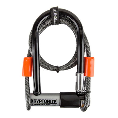 Kryptonite Kryptolok Series2 U-Lock w/ Cable
