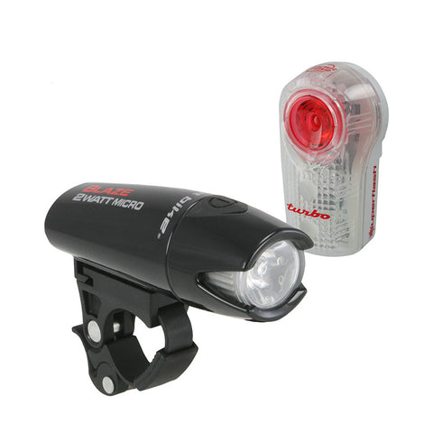Planet Bike Blaze Combo 2-Watt Micro + Super Flash Turbo