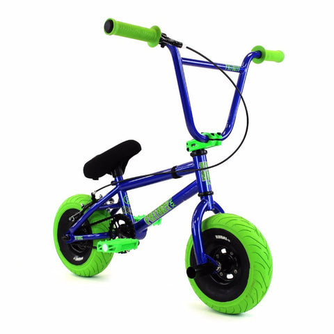 Fatboy Stunt Mini BMX Blue Green
