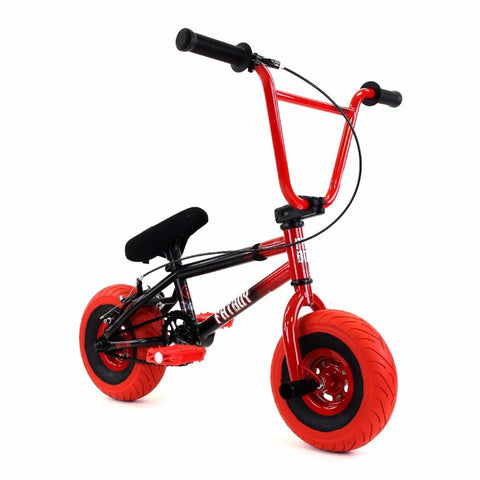 Fatboy Stunt Mini BMX Black Red