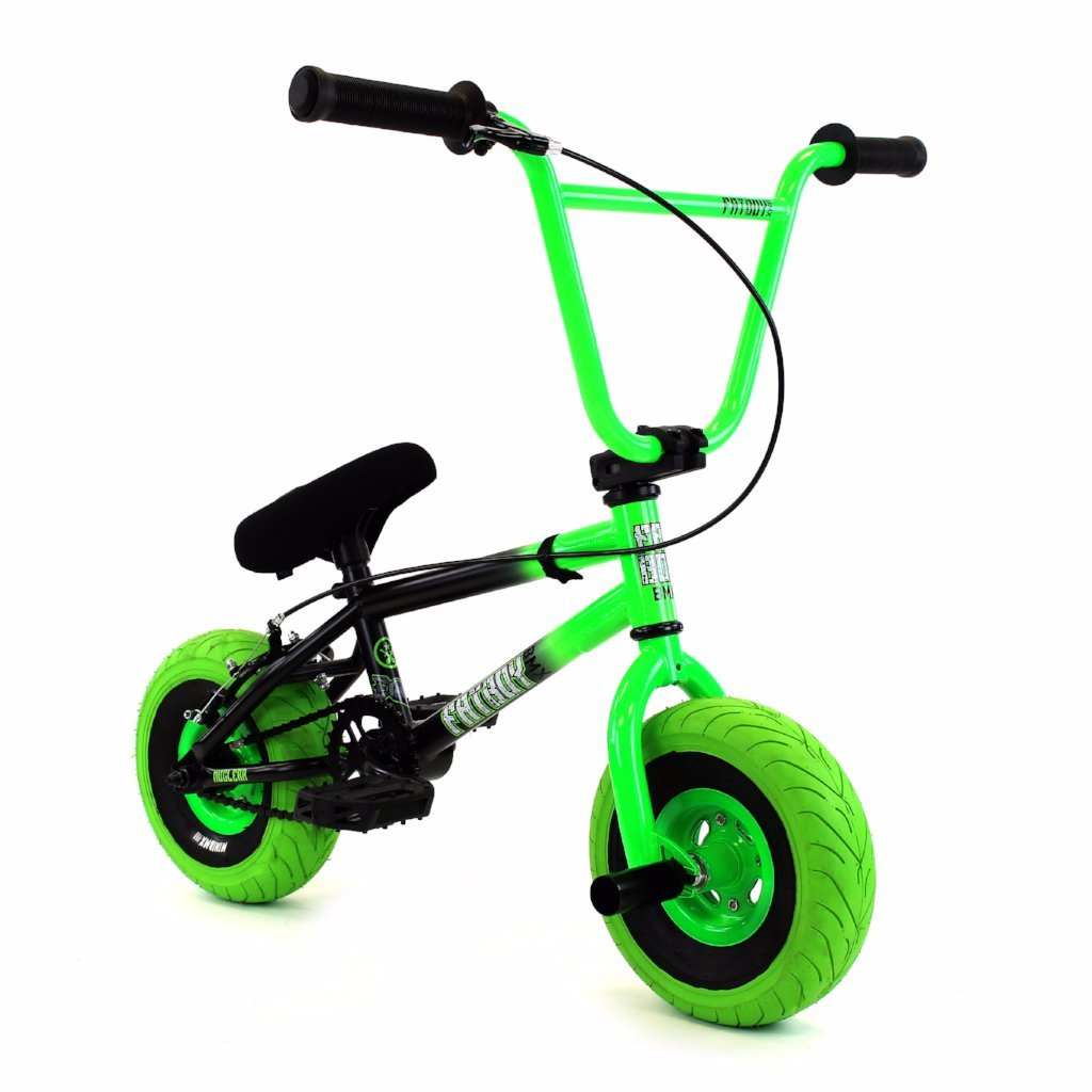 Fatboy Stunt Mini BMX Black Green