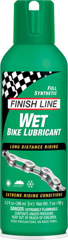 Finish Line Wet Lube 8 oz. Aerosol