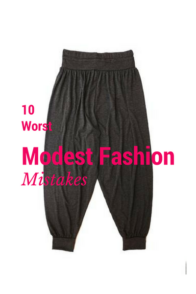 10 Worst Modest Fashion Mistakes!