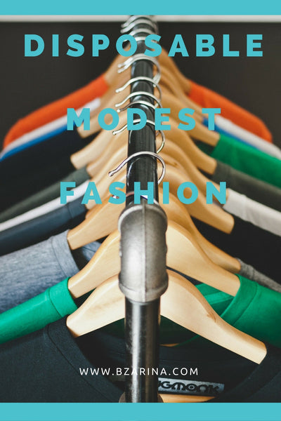 Stopping Disposable Modest Fashion