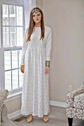 Blossoming Grey Maxi Dress