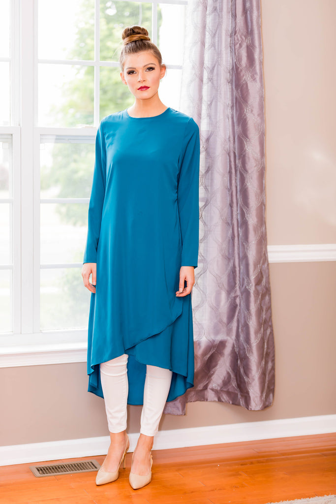 Turquoise Breeze Midi Dress
