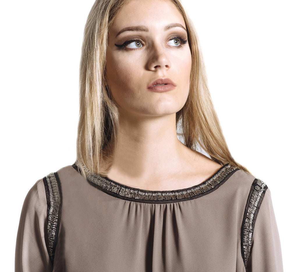 Mocha Dreams Blouse