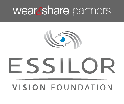 Wear and Share Partner Essilor Vision Foundation