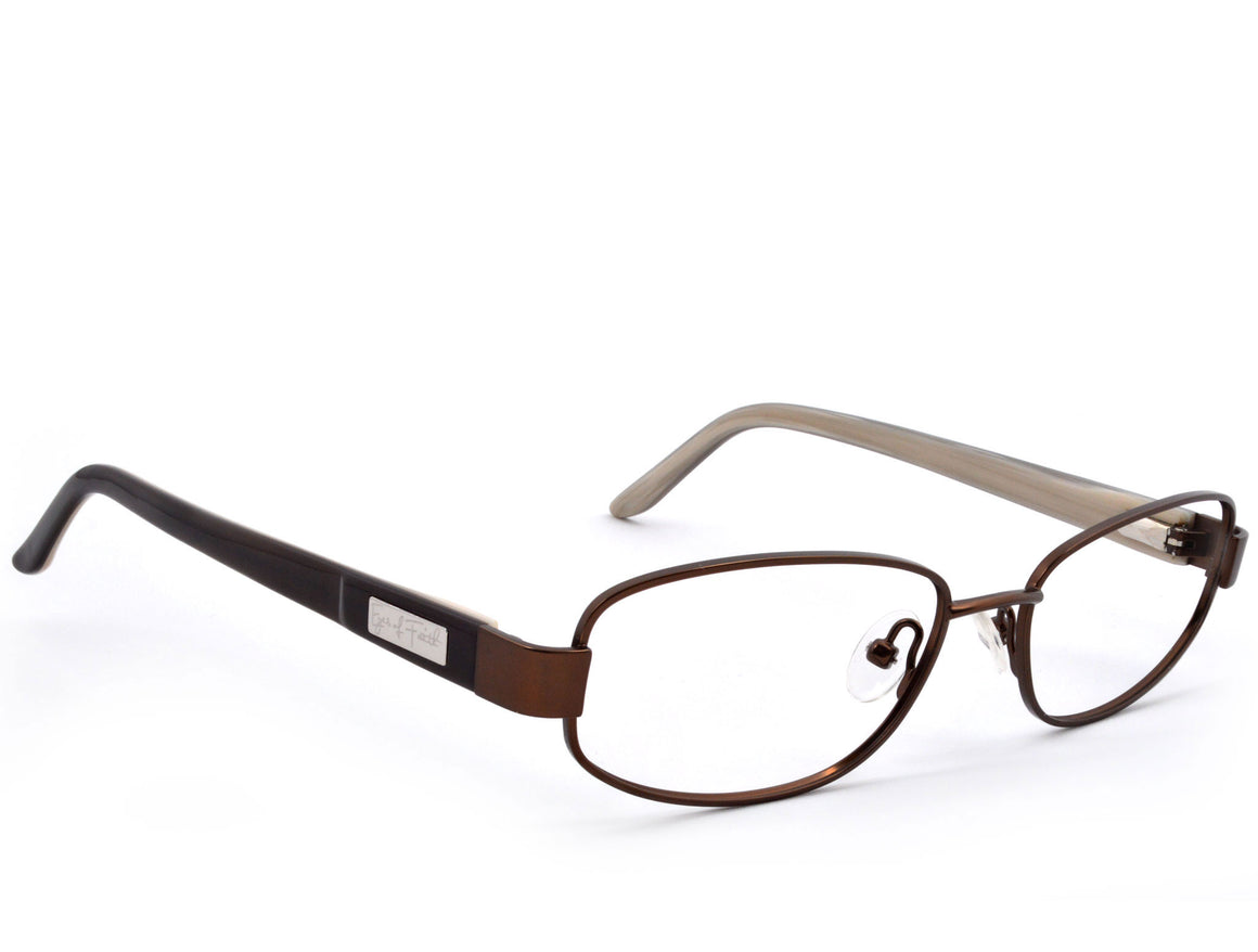 Eyes of Faith Ophthalmic Frame 1011 Brown