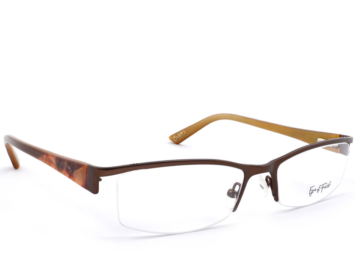 Eyes of Faith Ophthalmic Frame 1014 Brown