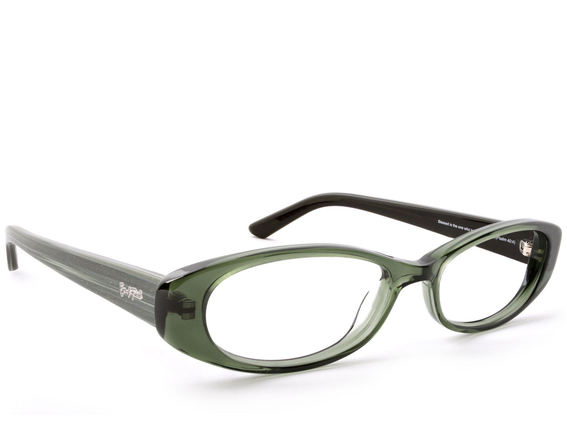 Eyes of Faith Ophthalmic Frame 1025 Pine Shimmer