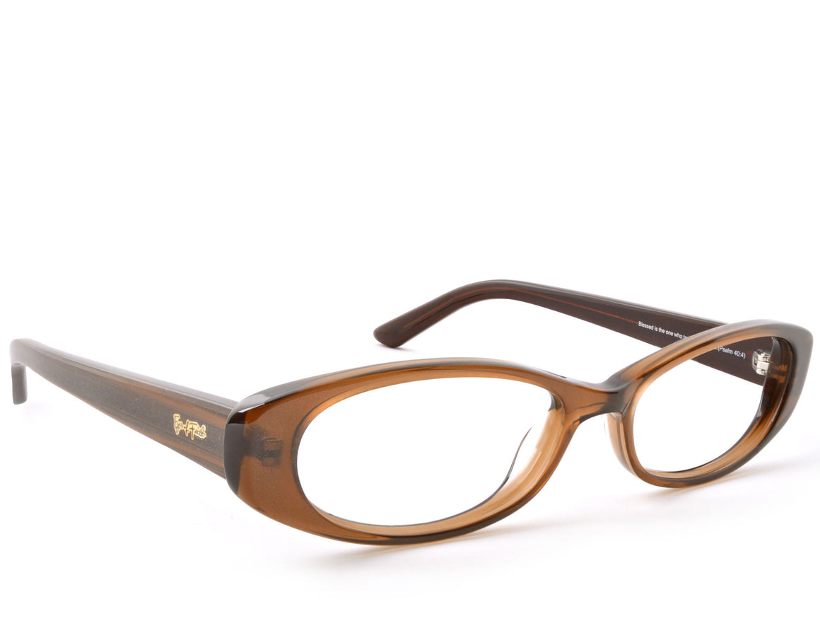 Eyes of Faith Ophthalmic Frame 1025 Toffee Shimmer