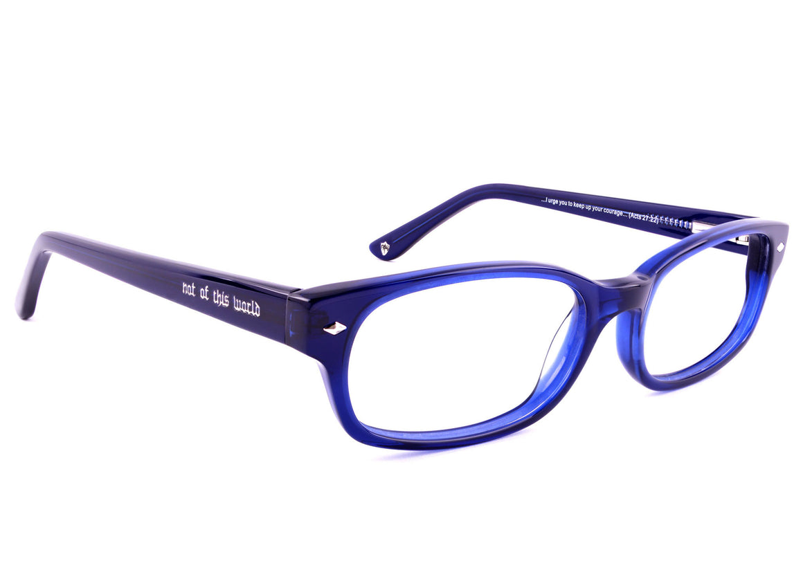 Eyes of Faith for NOTW Ophthalmic Frame Courage Midnight