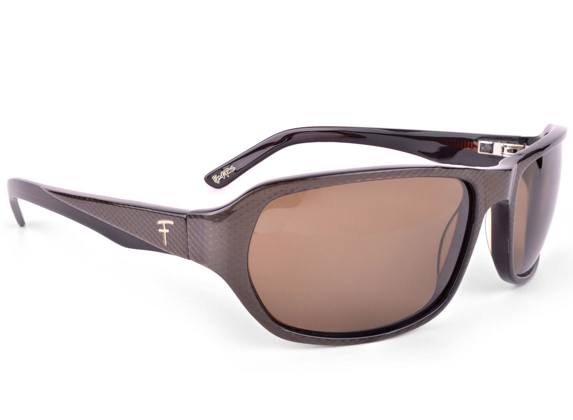 Eyes of Faith Ophthalmic Sunglass Justice Brown Carbon