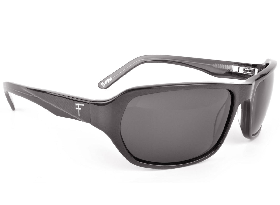 Eyes of Faith Ophthalmic Sunglass Justice Smoky Carbon