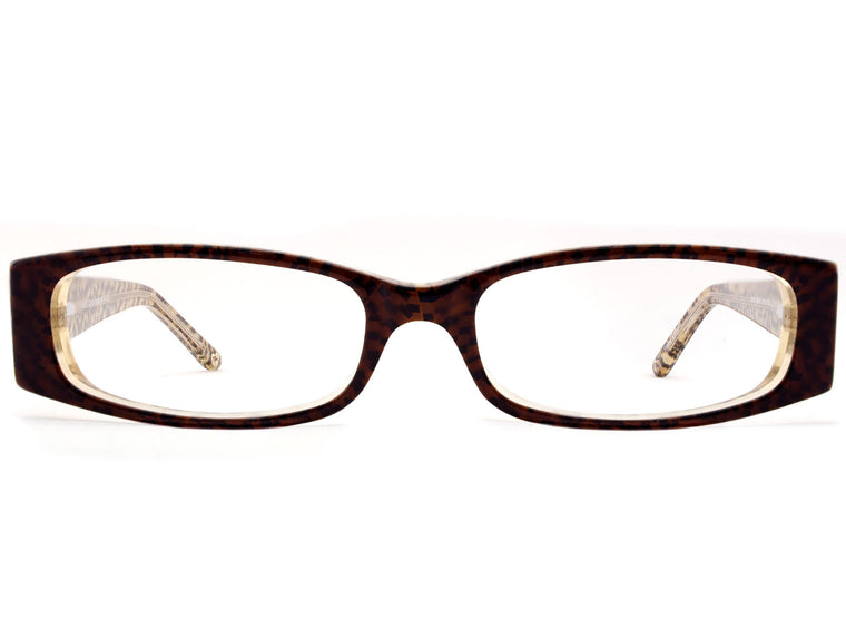 Eyes of Faith for NOTW Ophthalmic Frame Love Cocoa Mosaic