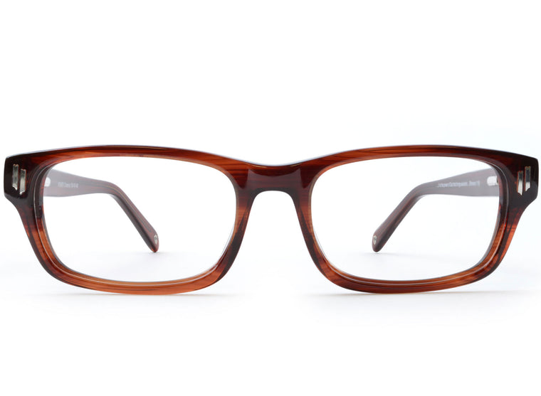 Eyes of Faith for NOTW Ophthalmic Frame Power Chestnut