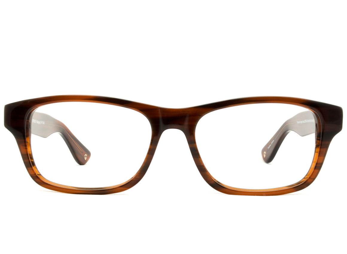 Eyes of Faith for NOTW Ophthalmic Frame Strength Mahogany