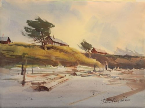 """Windswept On Oregon Beach"", accepted and toured with A.W.S. NYC"