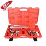 "F1960 PEX Expansion Tool Kit with 3/8"", 1/2"",3/4"",1"" Expander Heads and PEX Pipe Cutter"