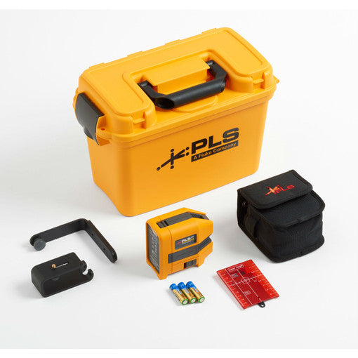 Pacific Laser 5009357 PLS 3R KIT/RBP5 5023322, 3-Point Red Laser Kit w/Lithium Ion Battery and Charger