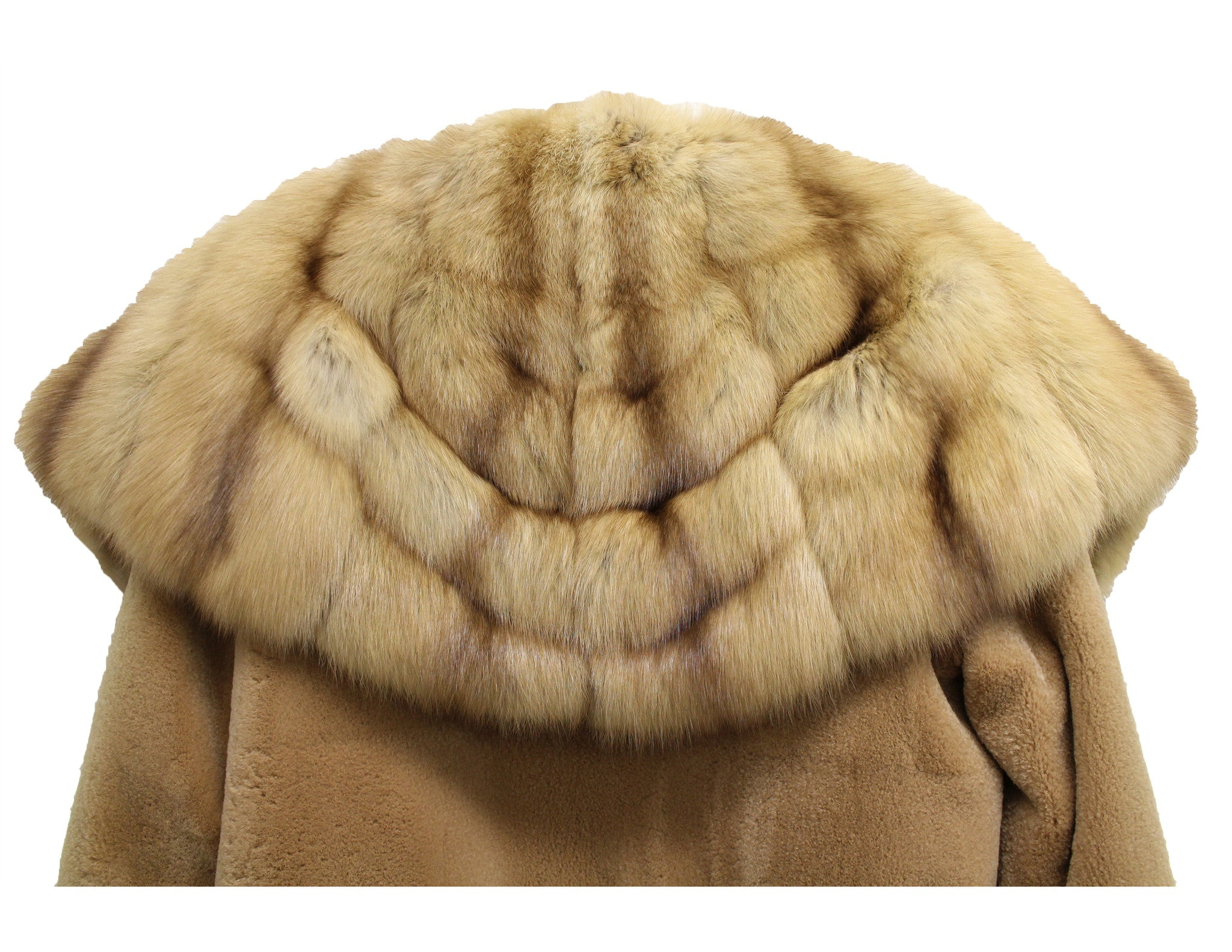 J. Mendel Sable and Beaver Fur Reversible Coat w/Hood (Size M) - Encore Consignment - 8