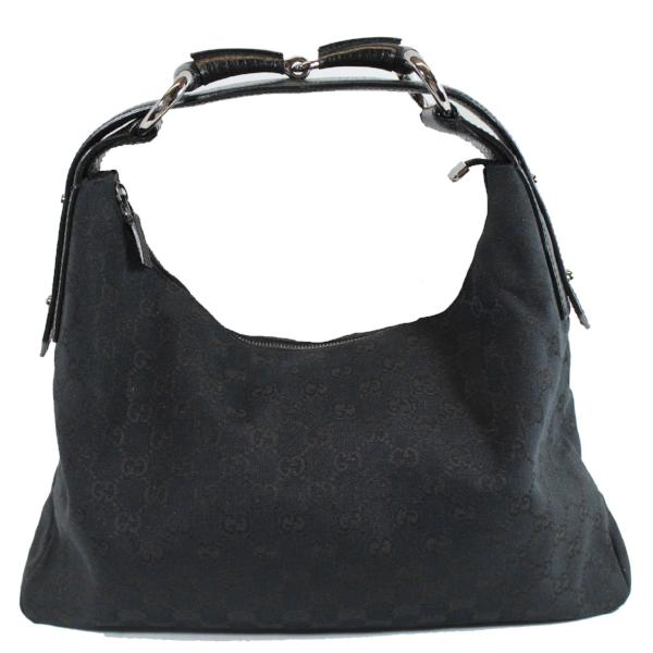 Sold  GUCCI Black Shoulder Bag – Encore Consignment b83894d3fced4