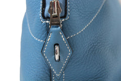 'Sold' HERMÈS Blue Bolide 31 Bag