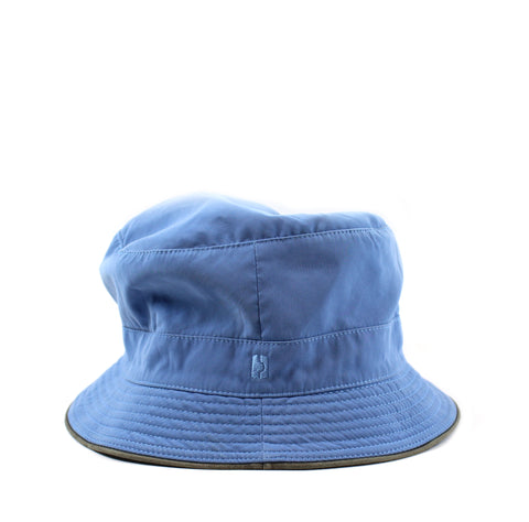 Hermès Blue Bucket Hat (Size 58)