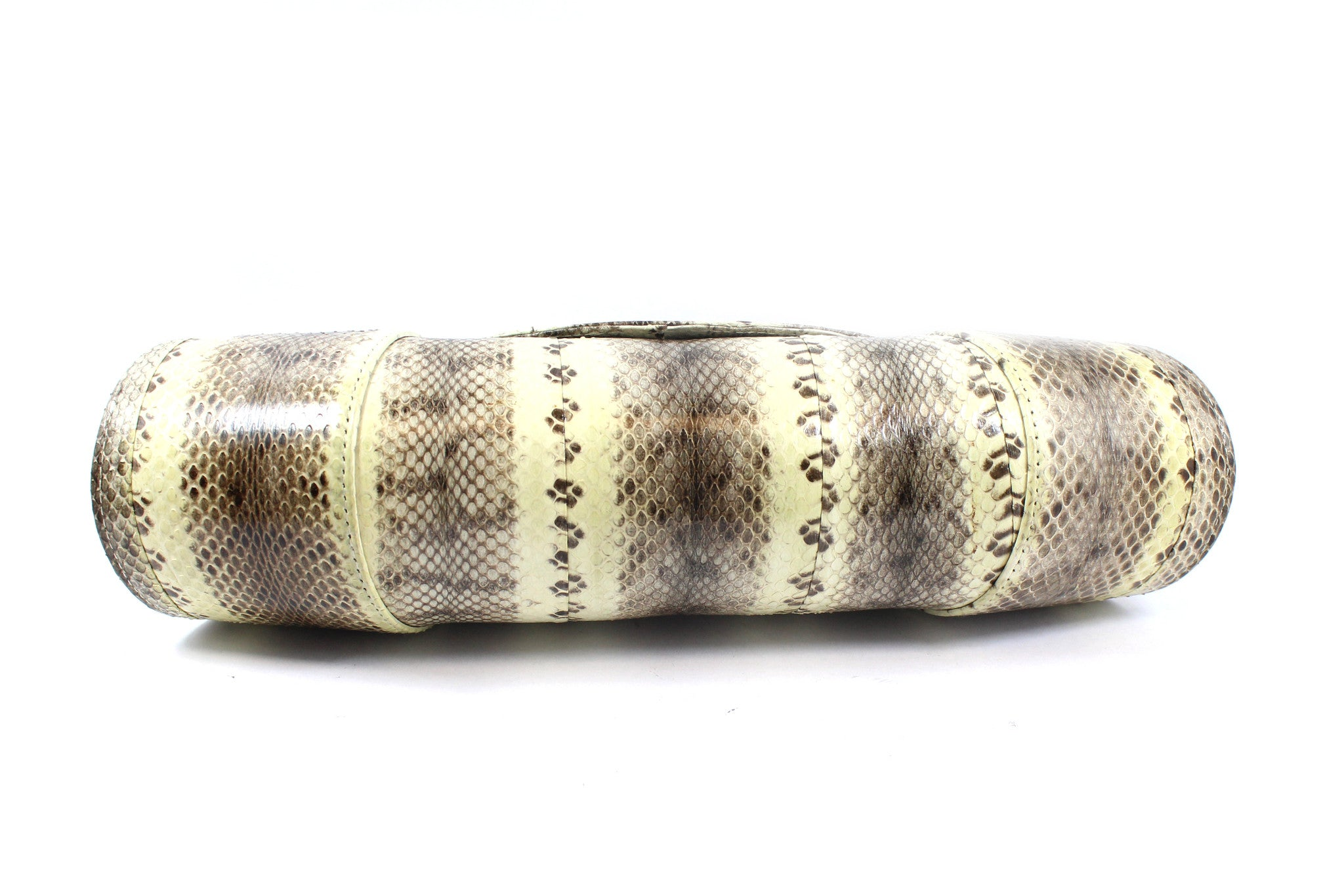 Beirn Large Snakeskin Clutch - Encore Consignment - 4