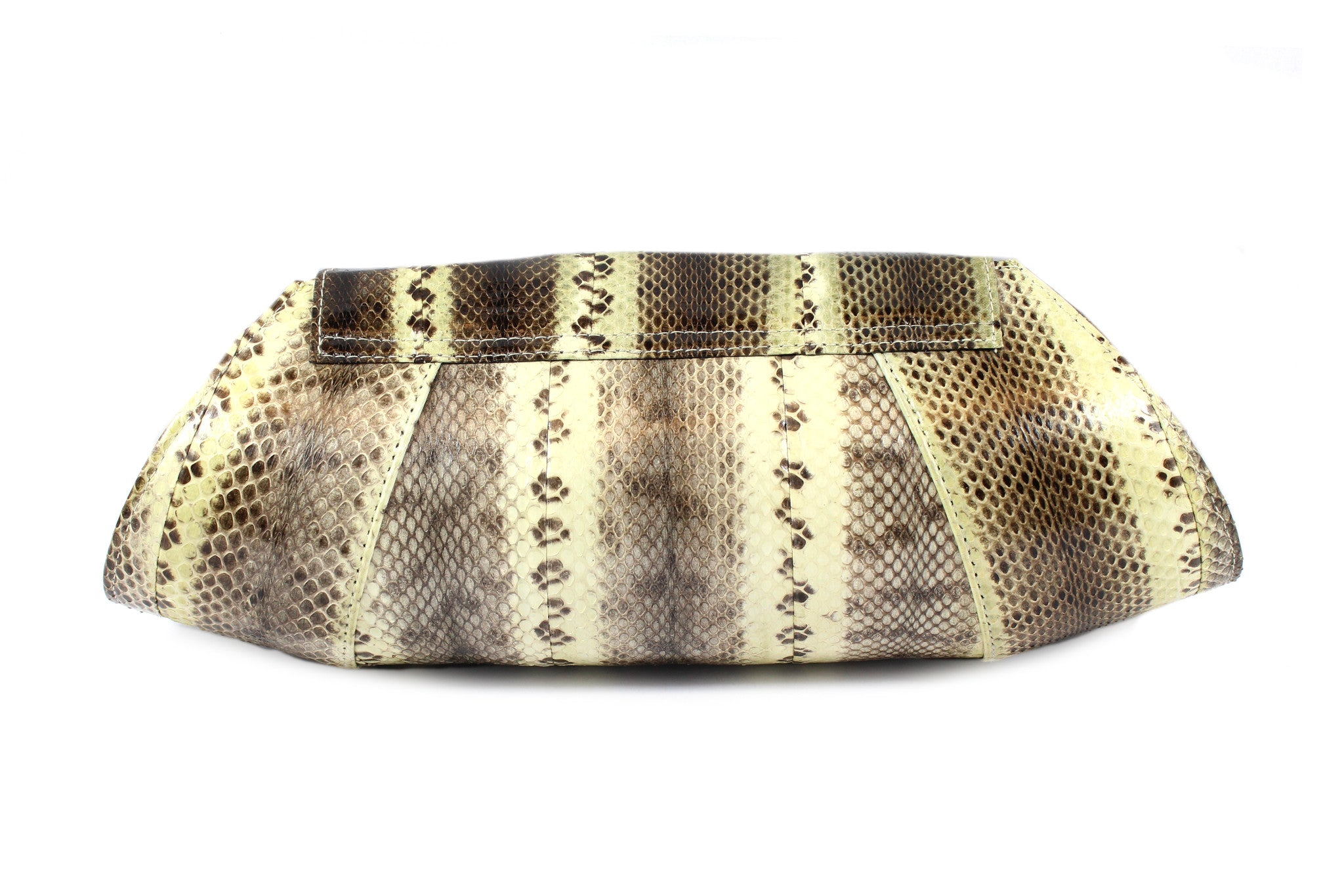 Beirn Large Snakeskin Clutch - Encore Consignment - 3