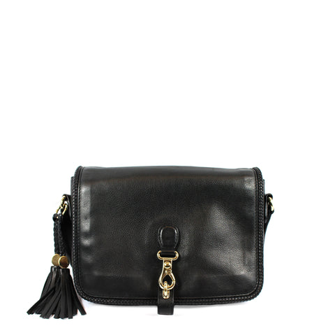Gucci Leather Medium 'Marrakech' Cross Body Bag - Encore Consignment - 1