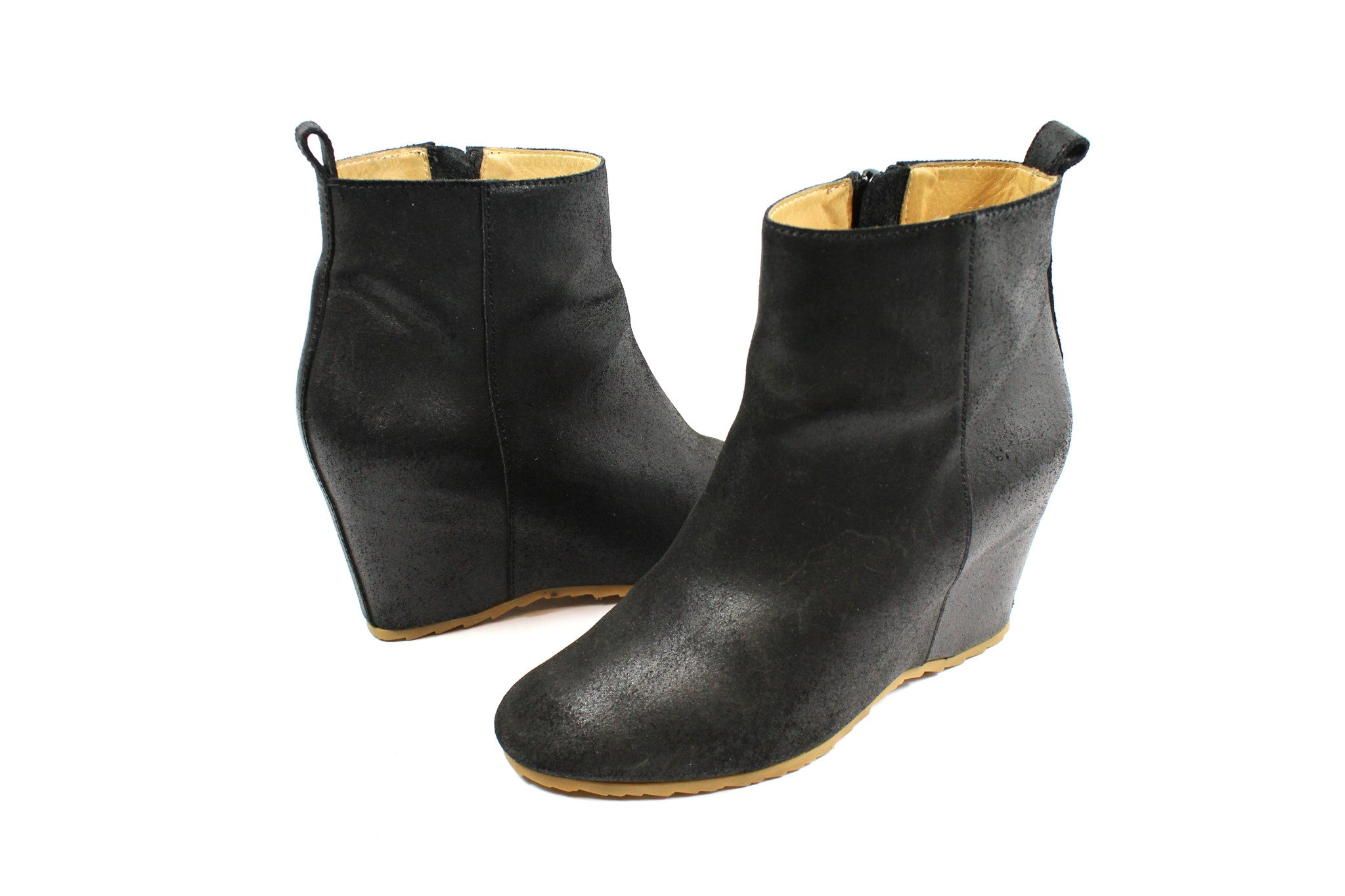 MM6 Maison Margiela Wedge Booties - Encore Consignment - 2
