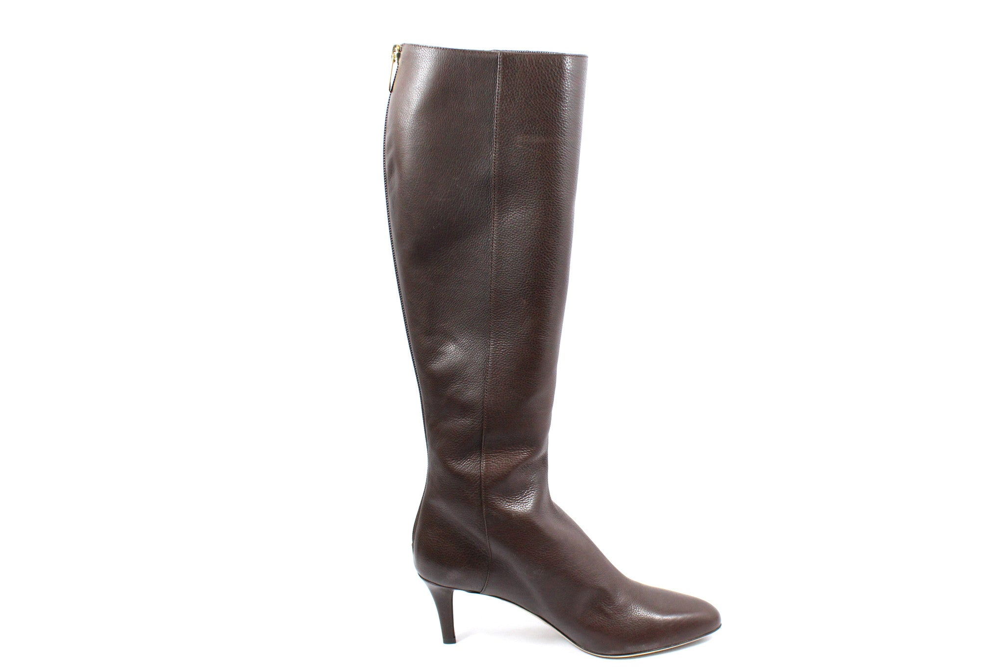 64b2da9cc56 Jimmy Choo Brown Leather Boots (Size 37) - Encore Consignment - 4