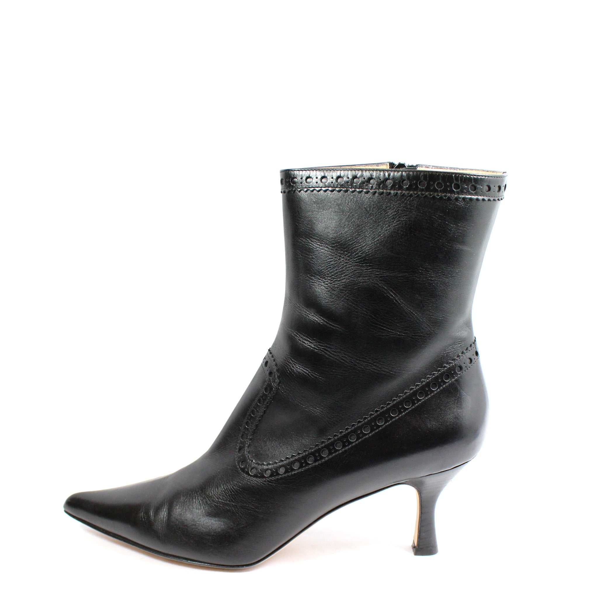 Michael Kors Perforated Leather Ankle Boots (Size 11) - Encore Consignment - 15