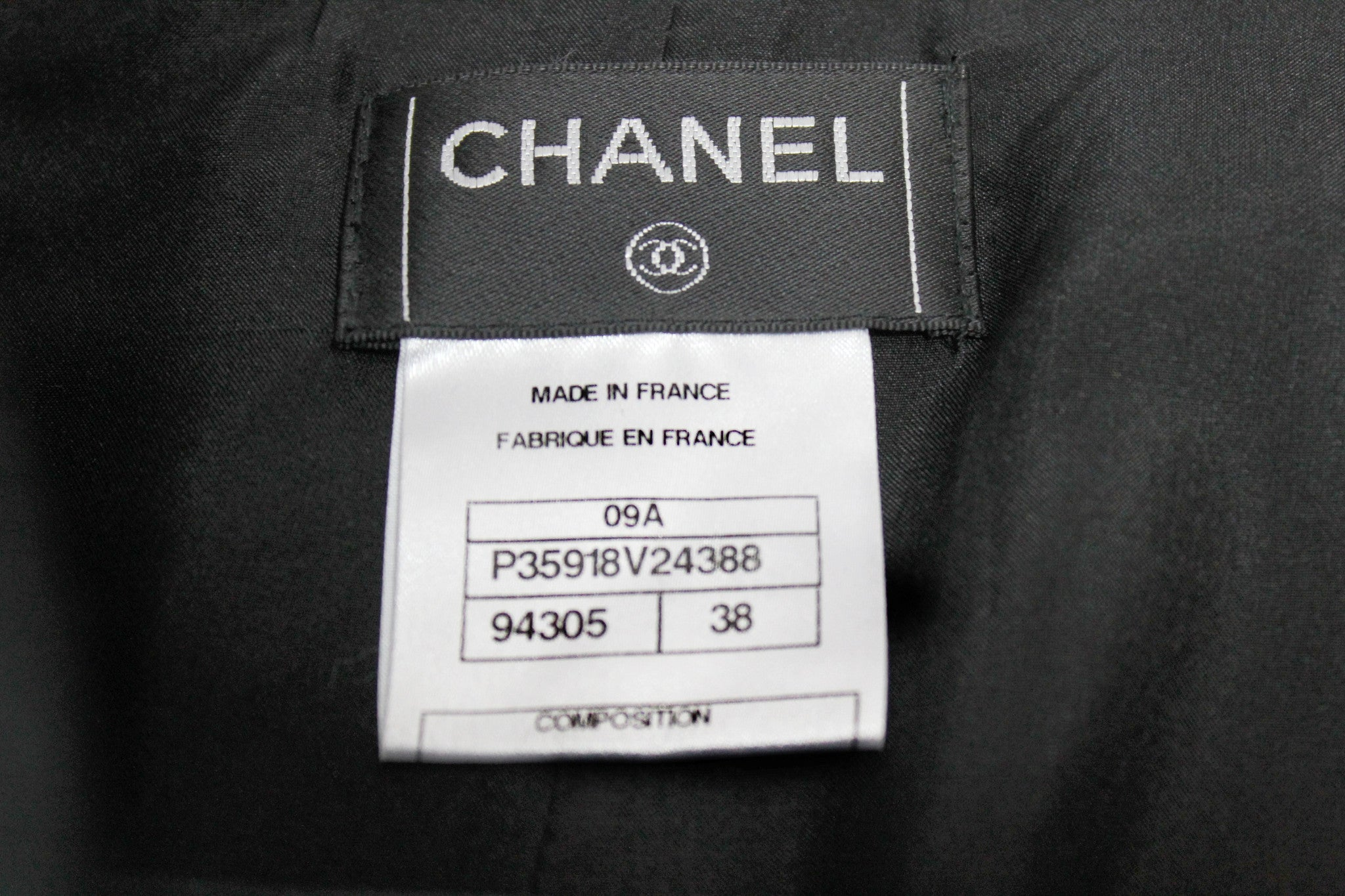 Chanel Black Cashmere Straight Skirt (Size 38) - Encore Consignment - 6