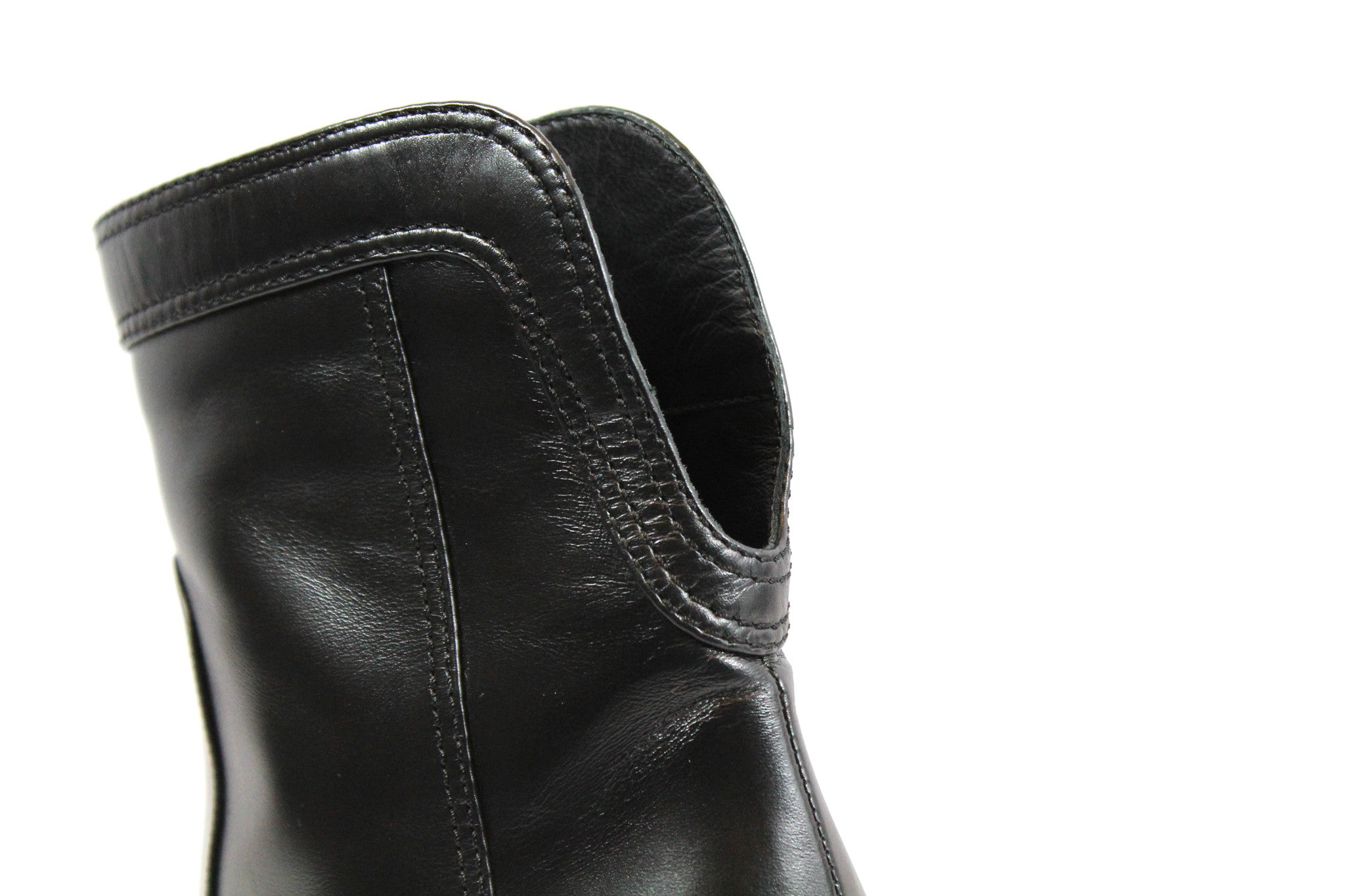 Chanel Calfskin Ankle Boots (Size 38) - Encore Consignment - 9