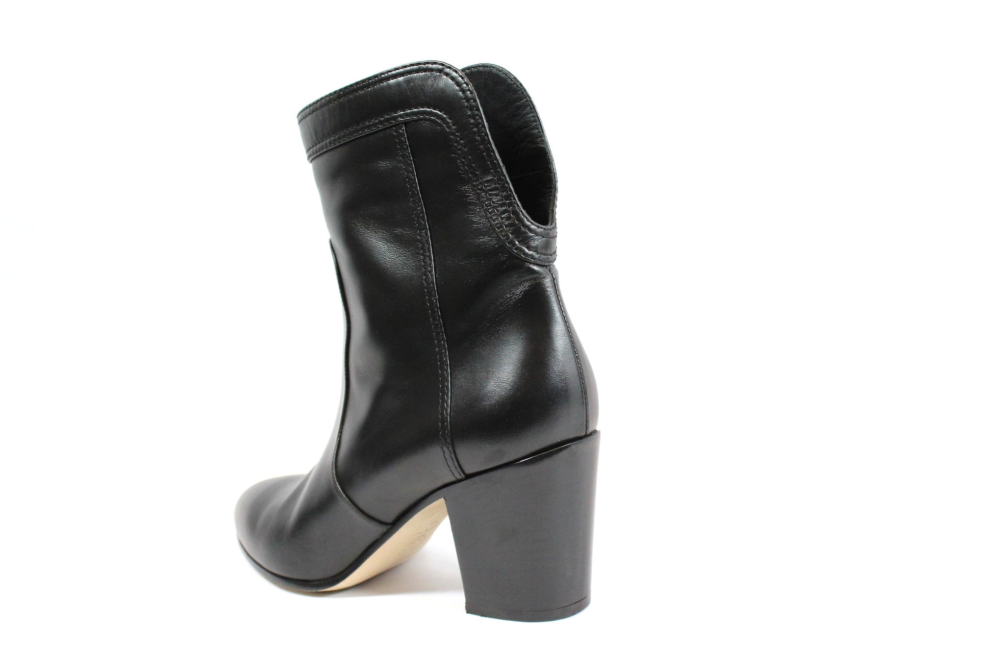 Chanel Calfskin Ankle Boots (Size 38) - Encore Consignment - 11