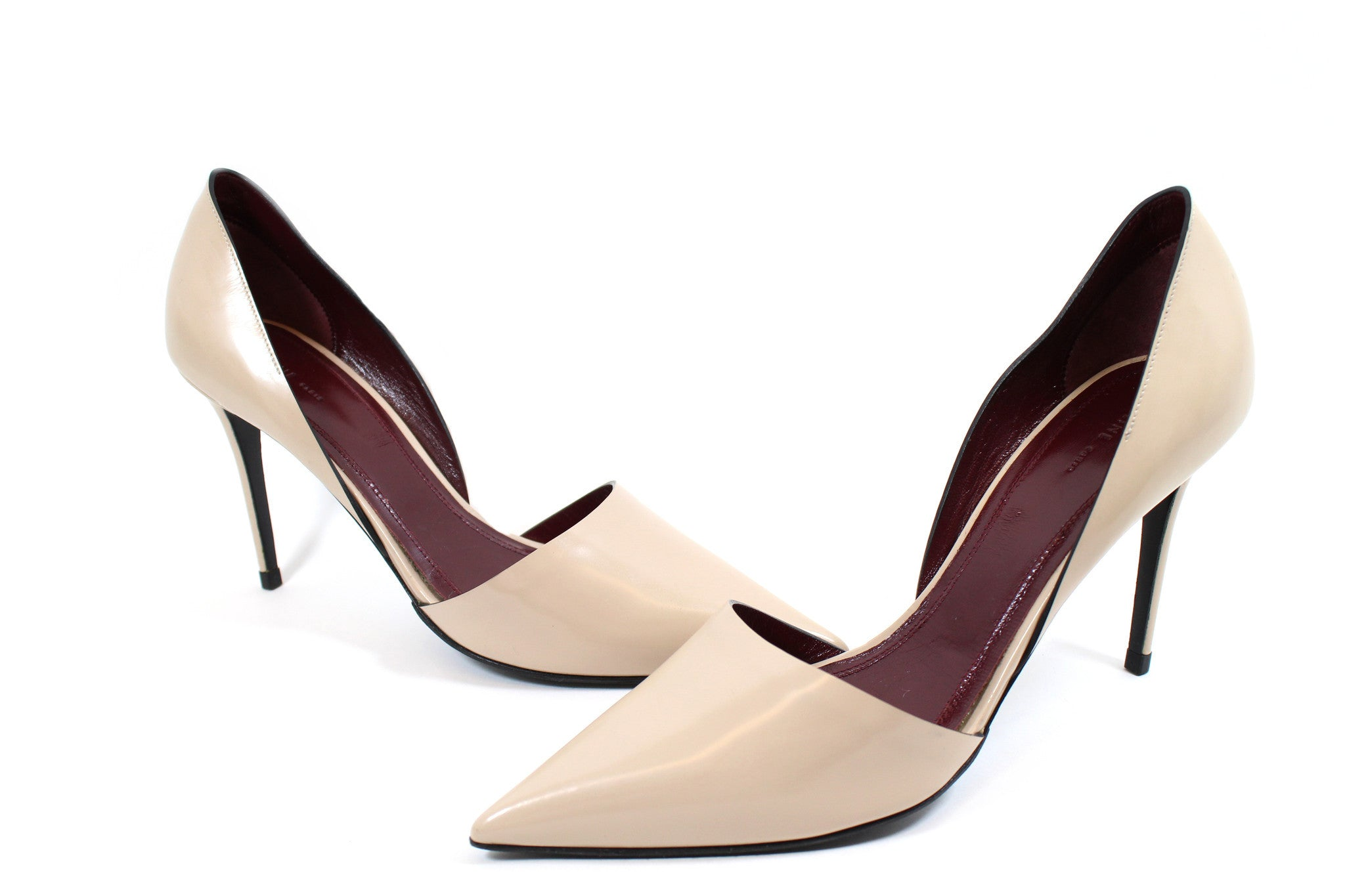 Céline Nude d'Orsay Pointed Toe Pumps (Size 38.5)