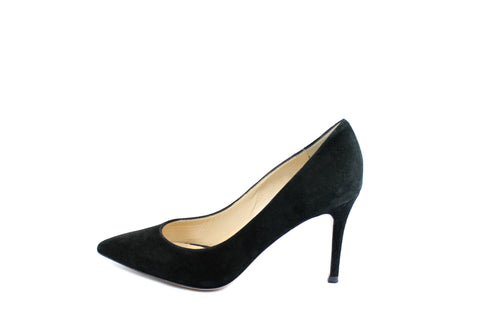 Barneys New York Black Suede Pumps (Size 36) - Encore Consignment - 1