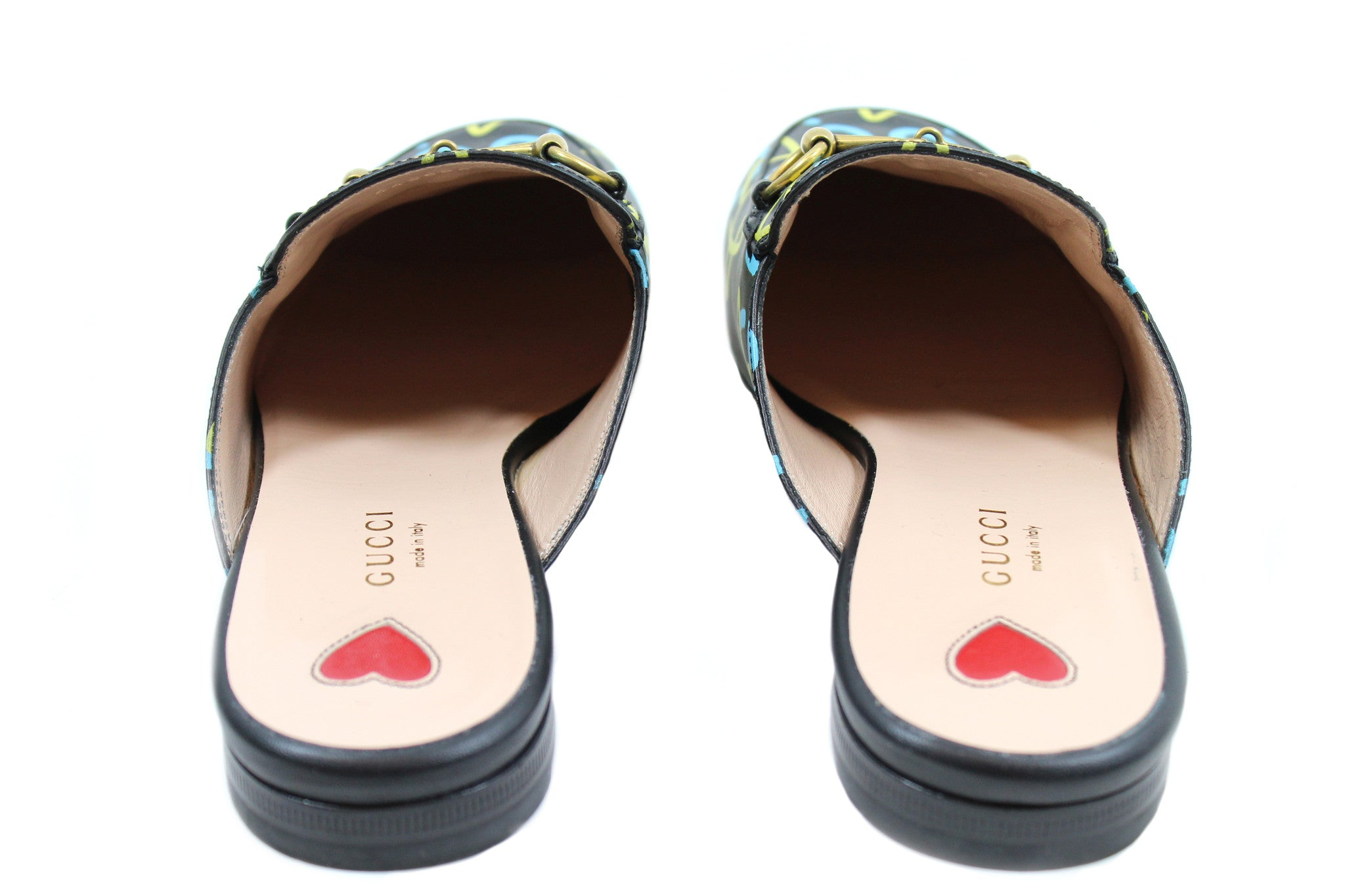 Gucci 'Princetown' Mule Loafers (Size 38)